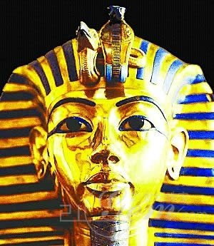 埃及法老图坦卡蒙的黄金面具-埃及女神像图片大全 罗马斗兽场 自由女图片