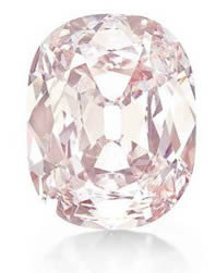 """全球第三大粉红钻石""""小王子""""拍卖3900万美元"""