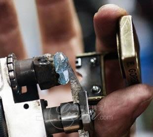 南非发现一颗25.5克拉罕见蓝色钻石