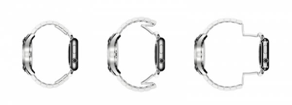 正面瑞士表 反面Apple Watch