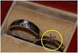 通灵钻戒只戴10天就掉钻石 顾客投诉险遭打