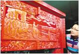 北京献礼国庆 雕漆、象牙雕工艺珍品亮相