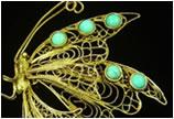 中国珠宝传统工艺——金银花丝镶嵌