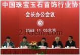 2009年中宝协会长办公会议在北京举行