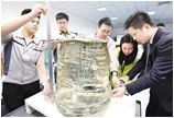 中国合成制造出全球最大蓝宝石晶体