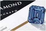 1.08亿港币!5.00克拉艳彩蓝色钻石戒指成交